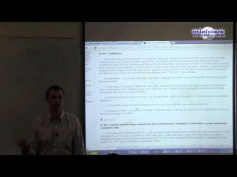 Customs Automated Broker Interface (ABI) Part 1