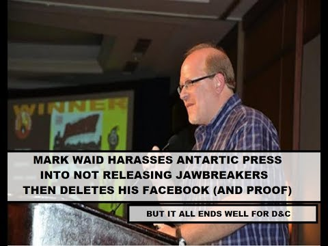 Mark Waid Harasses Antarctic Press Into NOT Releasing Diversity & Comic's Book, Deletes Social Media