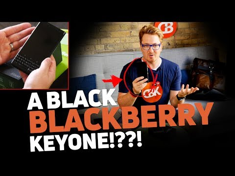"Optiemus India BlackBerry KEYone ""Limited Edition Black"" First Look!"