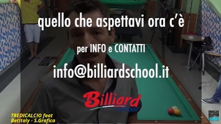 Repeat youtube video Gianluca Nascimbene - Billiard School - Appuntamento con Fisso Maggio 5^ Lezione