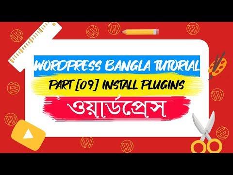 WordPress Beginner Tutorial in Bangla [Part-09] : Install Plugins thumbnail
