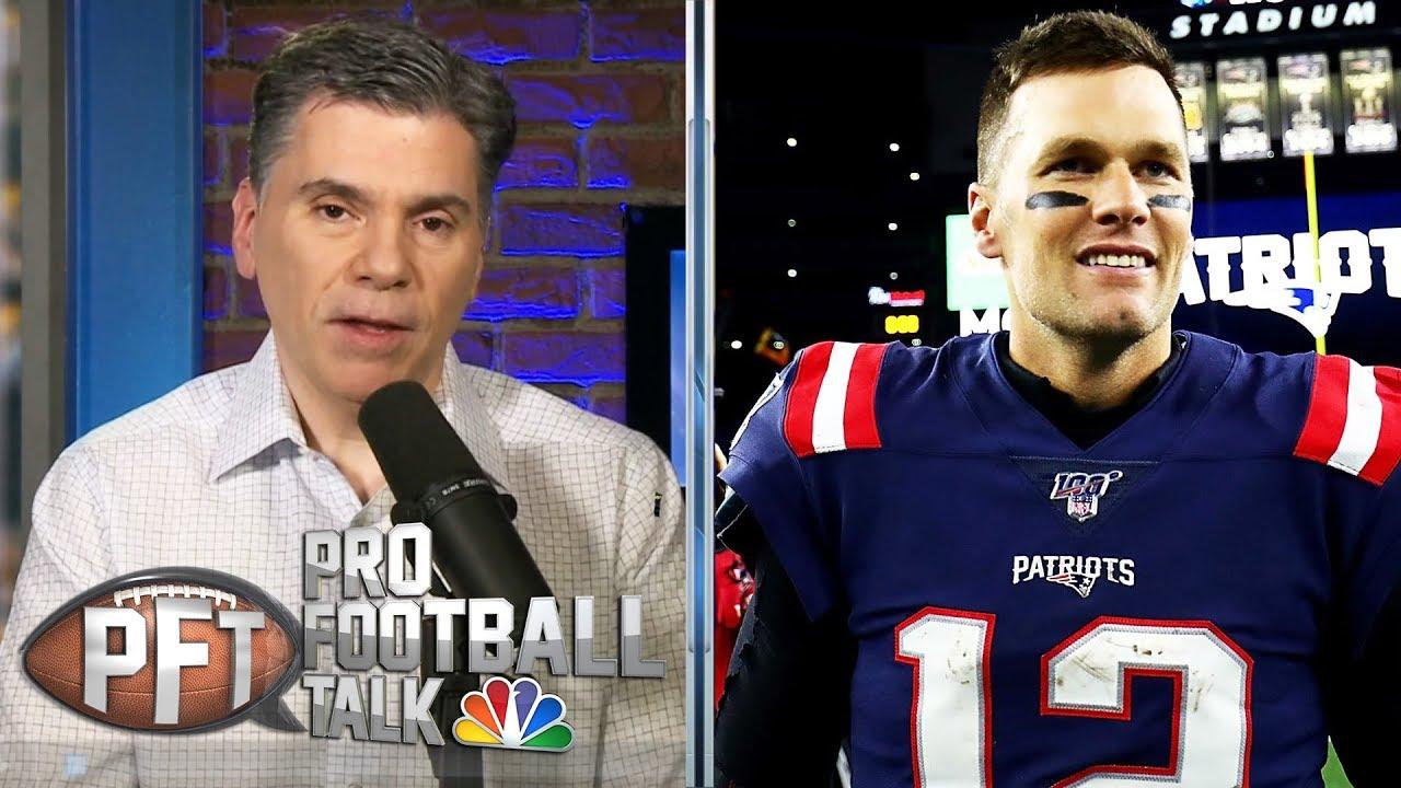 PFTOT: Brady's free agency plan, fastest 40-time | ProFootballTalk | NBC Sports