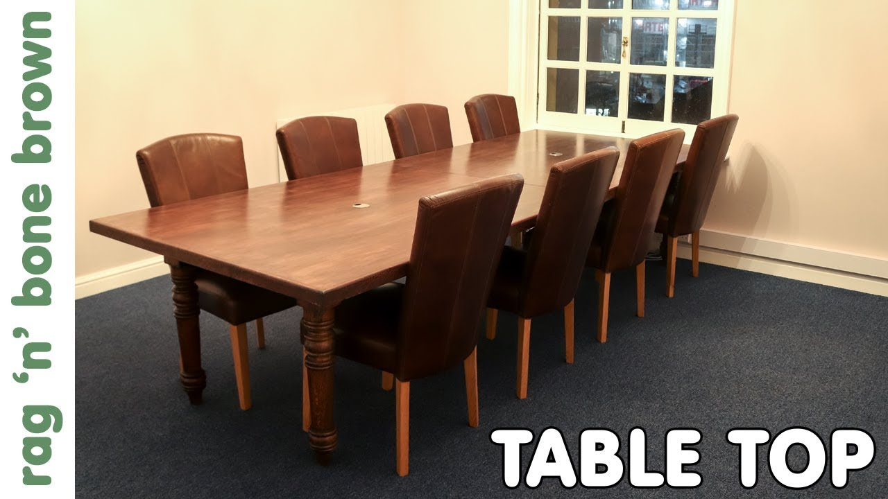 Making & Installing A Replacement Table Top