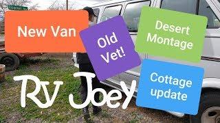 NEW Van, Chairs, Cottage update, 3 Purple Heart Veteran visit, Desert Montage