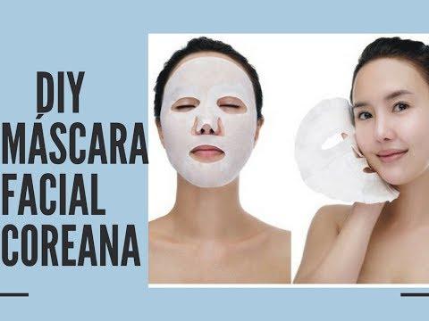 Mascara Facial Hidratante Caseira Coreana L Segredo De Beleza Youtube