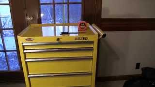 Stanley 27 Inch 5-drawer Tool Cabinet (chest) In Yellow