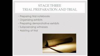 Paralegal Role in Litigation