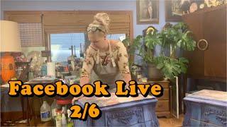 Facebook Live 2/6