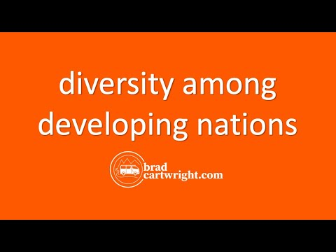 Economic Development Series: Diversity Among Developing Nations