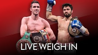 LIVE WEIGH-IN! Callum Smith vs John Ryder 👊