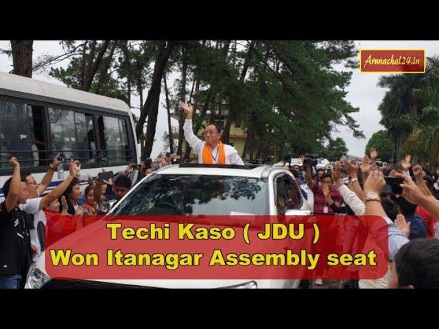 Arunachal Pradesh- Techi Kaso won Itanagar seat on JDU ticket