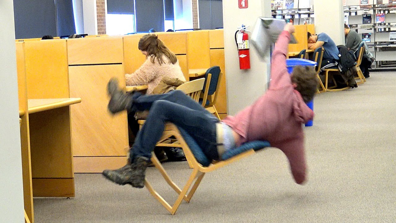 Falling Out Of Chairs Youtube