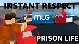 Roblox Prison Life (How to become the MOST MLG Prisoner in the game)