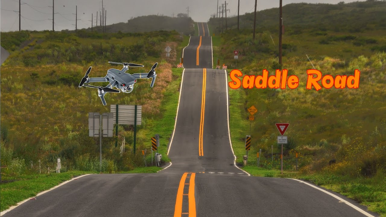 Map Saddle Road Big Island Hawaii