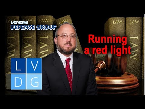 Is Running a Red Light a Crime in Nevada? (NRS 484B.307)