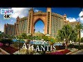 Atlantis, Palm Jumeirah- Best Hotels in Dubai- Dubai in 4K