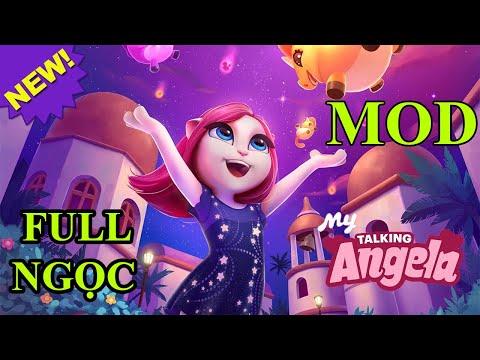 tai game my talking angela hack mien phi - My Talking Angela Mod - Cách Kiếm Full Gold + Full Gem + Full Trang Phục Và Nhiều Thứ