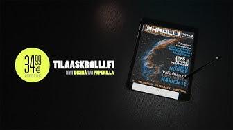 Skrolli-mainos - Nyt diginä tai paperilla (10 sek)