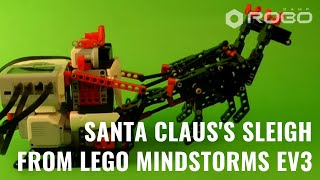 Santa Claus's Sleigh Lego Mindstorms Ev3 With Building Instruction