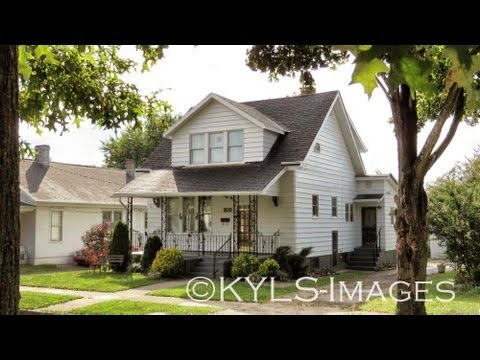 Danville Kentucky cottage home for sale - great area, one block off Main Street