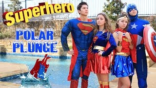 Favorite Character Polar Plunge 2017 | Brooklyn and Bailey Challenge Videos thumbnail