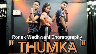 Thumka Dance Video | Pagalpanti | Ronak Wadhwani Choreography | YO YO Honey Singh