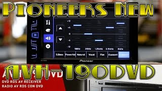 The unboxing of Pioneers new AVH 190DVD