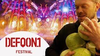 Gratis met krop sla Defqon festival binnenkomen | Gierige Gasten