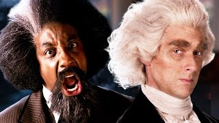 Frederick Douglass vs Thomas Jefferson.  Epic Rap Battles of History - Season 5 by : ERB