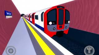 Riding Victoria Line in ROBLOX MTG from downing square to Wayholt.