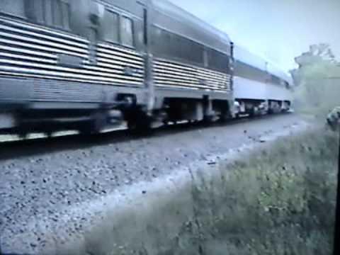 Cotton Belt 819 at Winona, Tx. on Oct. 17, 1993