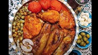 دستورپخت خورشت غوره مسما با مرغ و بادمجون #SagharNejad