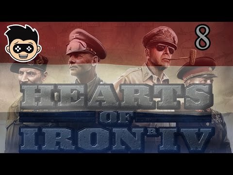 Hearts of Iron 4 | Dutch Rijk | episode 8 - Securing Scandin