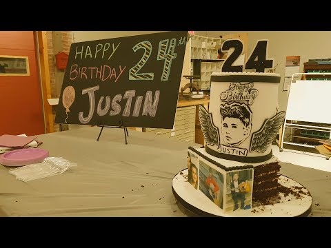 Justin Bieber exhibition | 24th Birthday tribute | Stratford Ontario Canada | 1st March 2018 🎶🇨🇦❤