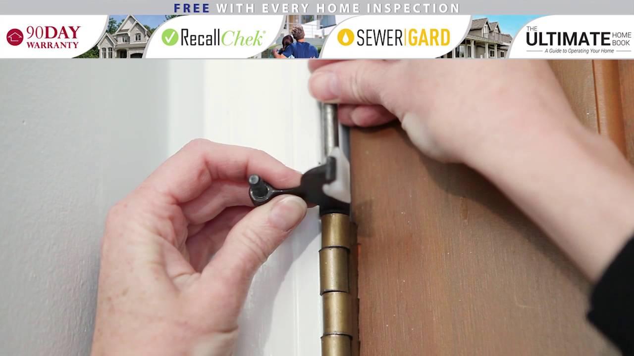 Installing a Hinge Pin Door Stop