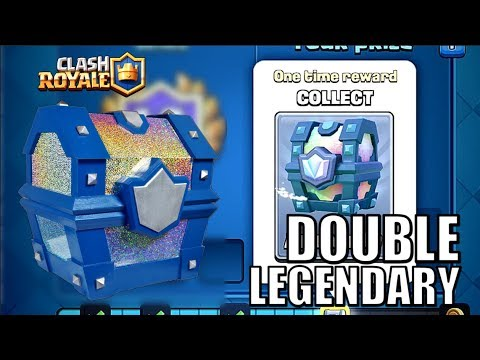 CROWN CHAMPIONSHIP CHALLENGE! DOUBLE LEGENDARY CHEST! • Clash Royale Indonesia