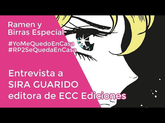 ENTREVISTA A ECC EDICIONES con Sira Guarido