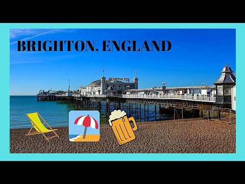 BRIGHTON, the spectacular and very famous BEACH BOARDWALK, ENGLAND