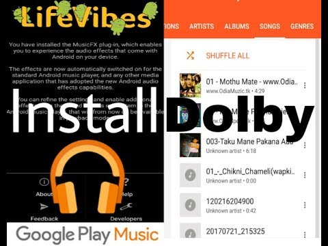 Dolby sound!  How to improve music sound in Android!!  Without rooted phone