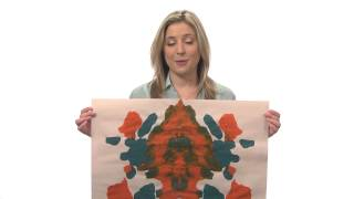 A projective inkblot test - Intro to Psychology