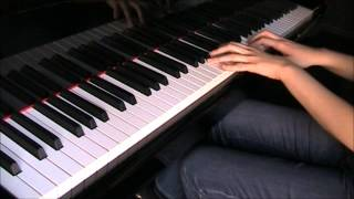 Kingdom Hearts Dearly Beloved - Hikari piano arrangement
