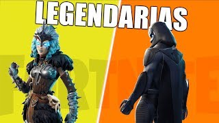 TOP 10 skins LEGENDARIAS de FORTNITE BR (2000 v-Bucks)