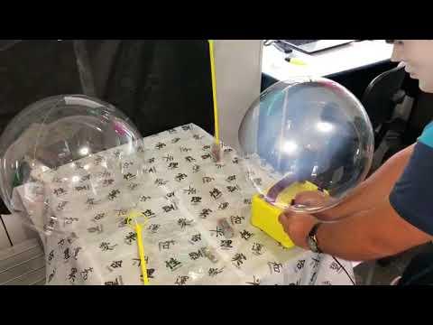 Como Inflar Um Balao Bubble Youtube