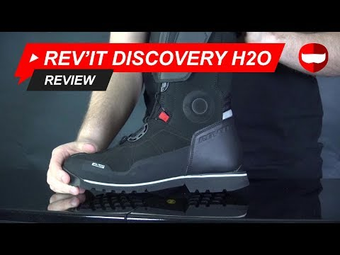 Rev'It Discovery H2O Motorcycle Boot Review - ChampionHelmets.com