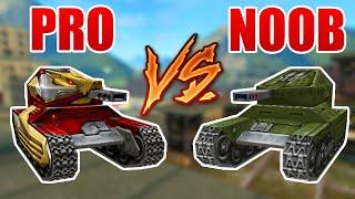 Pro vs Noob #1 (funny video) - Tanki Online