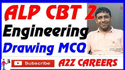 Engineering Drawing Questions for alp cbt 2 MCQ ED question answers