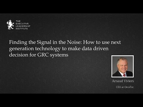 Finding the Signal in the Noise