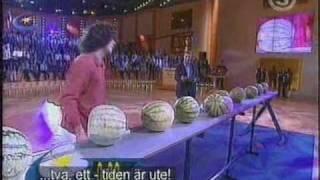 Guiness Rekord TV - Skalla Meloner