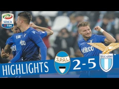 SPAL - Lazio 2-5 - Highlights - Giornata 20 - Serie A TIM 2017/18