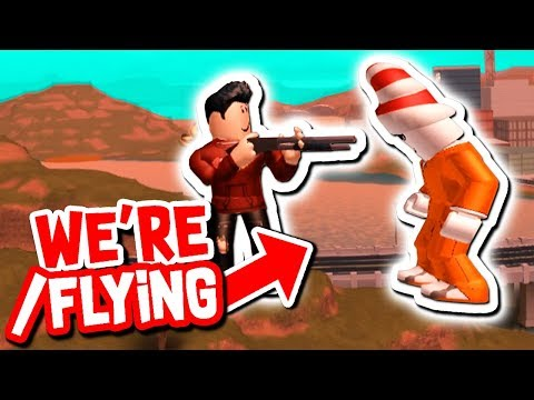 YOUTUBER TAUGHT US HOW TO FLY HACK IN ROBLOX JAILBREAK!!